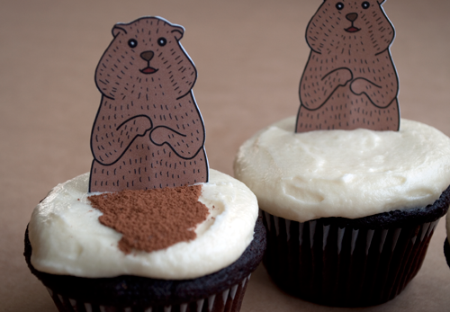 Groundhog-Day-Cupcakes